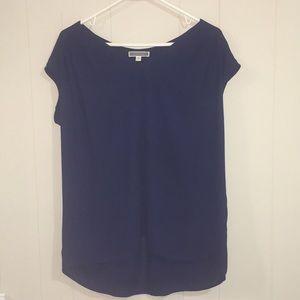 Pleione Short Sleeve Blouse Women's Size M